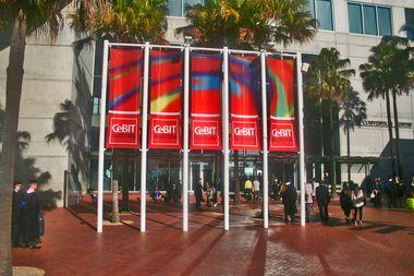 CeBIT Australia 2012 - main entrance