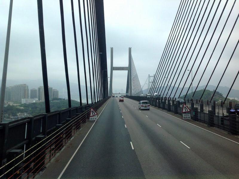 On the way to Hong Kong