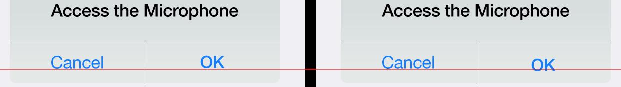 Pixel by pixel mobile design - alert buttons