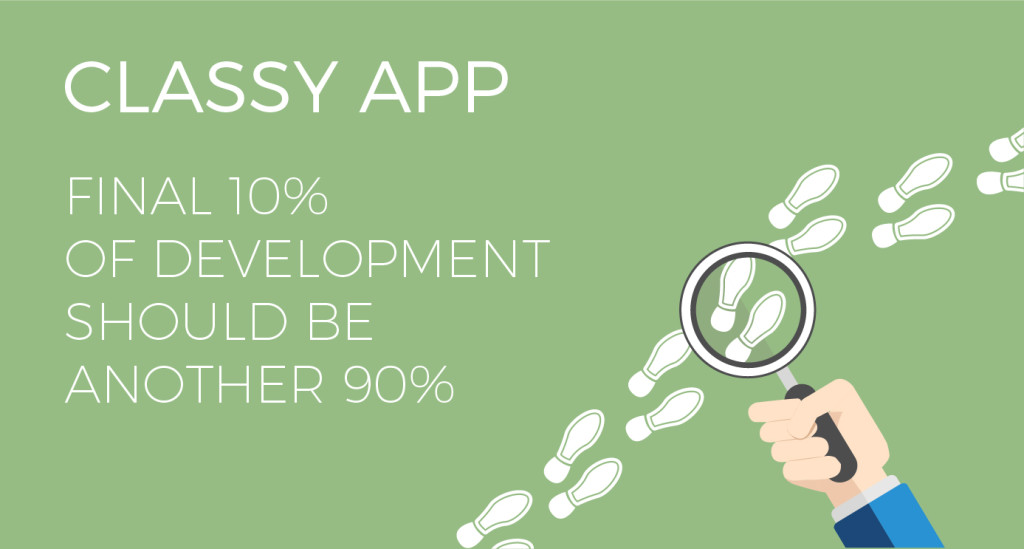 """Functionality vs. classy: the """"90/90 percent"""" app rule"""